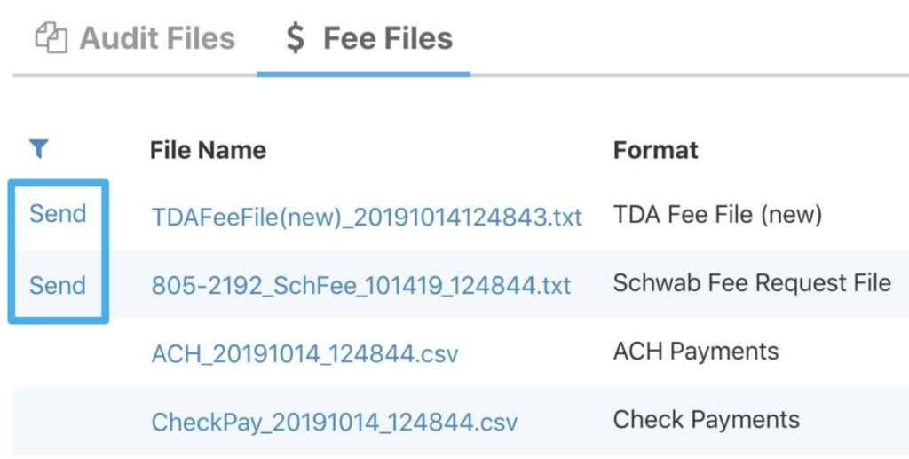 Using integrations to submit advisor management fees to custodians