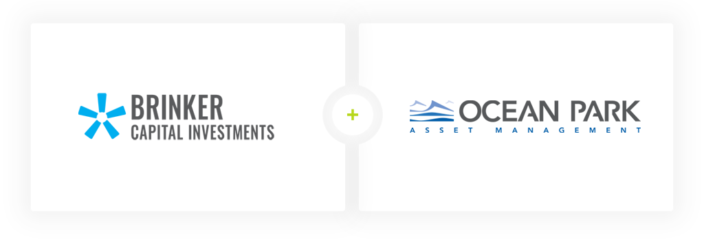 Brinker Capital and Ocean Park logos